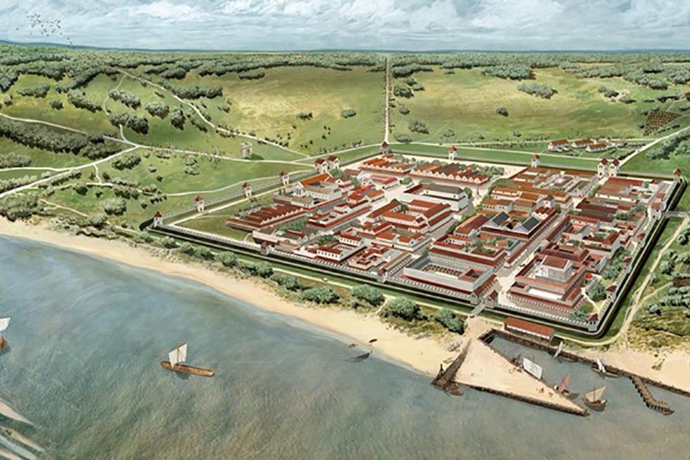 Nijmegen Waalfront Romeinen